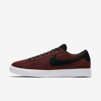 Nike Sb Blazer Vapor Skateboarding Mens Shoes Dark Team Red/White/Black Style: 878365-601