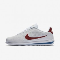 Nike Cortez Ultra Moire Mens Shoes White/Varsity Blue/Varsity Red Style: 845013-100