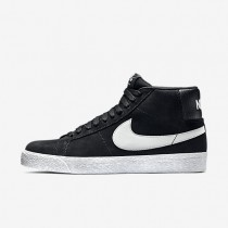 Nike SB Zoom Blazer Premium SE Mens Shoes Black/White/Base Grey Style: 631042-003