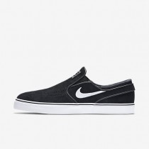 Nike SB Zoom Stefan Janoski Slip-On Mens Shoes Black/White Style: 833564-001