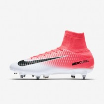 Nike Mercurial Veloce III Dynamic Fit SG-PRO Mens Shoes Racer Pink/White/Black Style: 831962-601