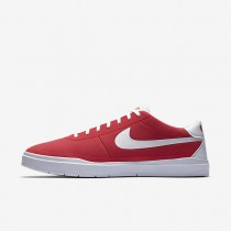 Nike SB Bruin Hyperfeel Canvas Mens Shoes Track Red/White/White/White Style: 883680-611