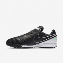 Nike Tiempo Mystic V TF Mens Shoes Black/White/Electro Green/Black Style: 819224-002