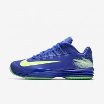 NikeCourt Lunar Ballistec 1.5 Legend Mens Shoes Paramount Blue/Electro Green/White/Ghost Green Style: 812939-400