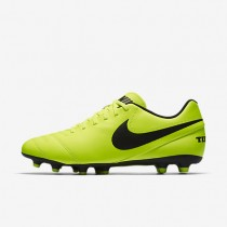Nike Tiempo III FG Mens Shoes Volt/Volt/Black Style: 819233-707