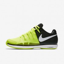 NikeCourt Zoom Vapor 9.5 Tour Mens Shoes Volt/Black/White Style: 631458-702