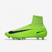 Nike Mercurial Veloce III Dynamic Fit AG-PRO Mens Shoes Electric Green/Flash Lime/White/Black Style: 831960-303