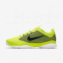 NikeCourt Air Zoom Ultra Mens Shoes Volt/White/Black/Black Style: 845007-701