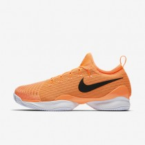 NikeCourt Air Zoom Ultra React Clay Mens Shoes Tart/White/Sunset Glow/Black Style: 881091-801