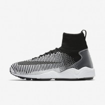 Nike Zoom Mercurial Flyknit Mens Shoes Black/White Style: 852616-002