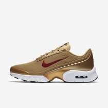 Nike Air Max Jewell QS Womens Shoes Metallic Gold/Black/White/Varsity Red Style: 910313-700