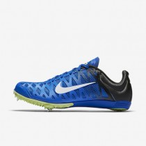 Nike Zoom Maxcat 4 Unisex Shoes Hyper Cobalt/Black/Ghost Green/White Style: 549150-413