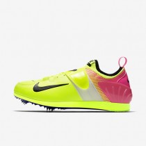 Nike Zoom Pole Vault II OC Unisex Shoes Volt/Multi-Colour Style: 882011-999