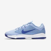 NikeCourt Air Zoom Ultra Womens Shoes Ice Blue/University Blue/White/Comet Blue Style: 845046-401