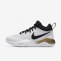 Nike Zoom Rev Womens Shoes White/Metallic Gold/Pure Platinum/Black Style: 897626-107