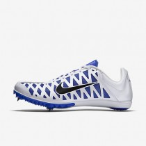 Nike Zoom Maxcat 4 Womens Shoes White/Racer Blue/Black Style: 549150-100