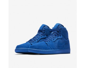 Air Jordan I Retro High Mens Shoes Team Royal/Team Royal Style: 332550-404