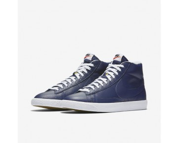 Nike Blazer Mid Premium 09 Mens Shoes Binary Blue/Black/Gum Light Brown/White Style: 429988-402