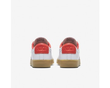 Nike Blazer Premium Low Womens Shoes White/Max Orange/Gum Light Brown/White Style: 454471-102