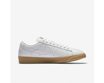 Nike Blazer Premium Low Womens Shoes White/Gum Light Brown/White/White Style: 454471-103