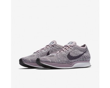 Nike Flyknit Racer Mens Shoes Light Violet/Plum Fog/White/Dark Raisin Style: 526628-500