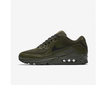 Nike Air Max 90 Essential Mens Shoes Cargo Khaki/Black Style: 537384-306