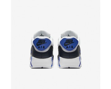 Nike Air Max 90 Essential Mens Shoes Obsidian/Pure Platinum/Racer Blue/Dark Grey Style: 537384-421
