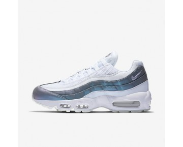 premium selection ee0e3 5f84d Nike Air Max 95 Premium Mens Shoes Glacier Blue White Stealth Palest Purple