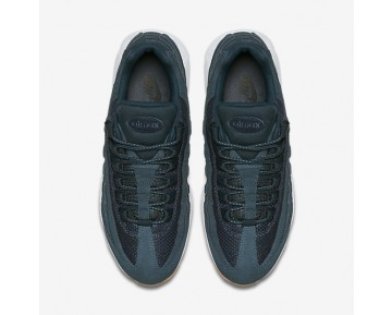 Nike Air Max 95 Premium Mens Shoes Armoury Navy/Blue Fox/Gum Yellow/Armoury Navy Style: 538416-402