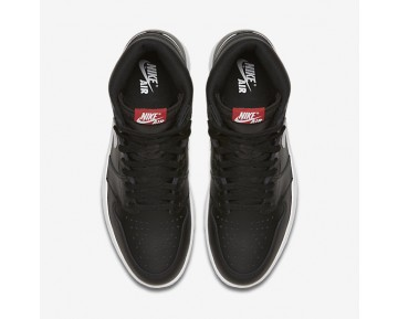 Air Jordan 1 Retro High OG Mens Shoes Black/Black/White Style: 555088-011