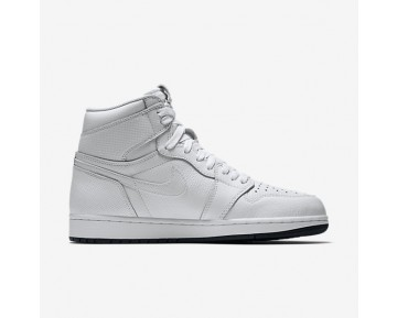 Air Jordan 1 Retro High OG Mens Shoes White/White/Black Style: 555088-100