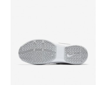 NikeCourt Air Vapor Advantage Womens Shoes White/Pure Platinum/Metallic Silver Style: 599364-100