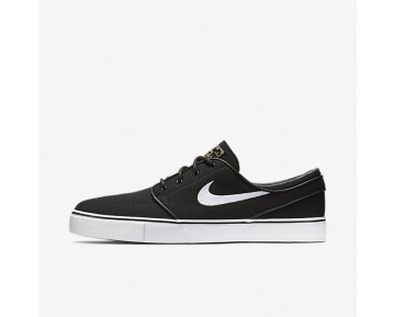 Nike SB Zoom Stefan Janoski Canvas Mens Shoes Black/Gum Light Brown/Metallic Gold Star/White Style: 615957-028