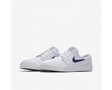 Nike SB Zoom Stefan Janoski Canvas Mens Shoes White/Obsidian/Obsidian Style: 615957-141