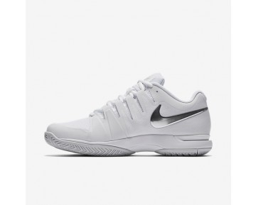 NikeCourt Zoom Vapor 9.5 Tour Womens Shoes White/Metallic Silver Style: 631475-101