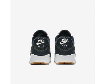 8c5fb76829 Nike Air Max 90 Premium Mens Shoes Dark Obsidian/Summit White/Gum Light  Brown