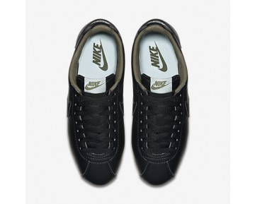 Nike Classic Cortez Metallic Womens Shoes Black/Legion Green/Glacier Blue/Black Style: 807471-005
