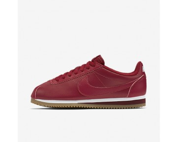 Nike Classic Cortez Metallic Womens Shoes Gym Red/White/Team Red/Gym Red Style: 807471-600