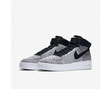 Nike Air Force 1 Ultra Flyknit Mens Shoes Black/White/Black Style: 817420-005