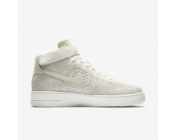 Nike Air Force 1 Ultra Flyknit Mens Shoes Sail/Pale Grey/Sail Style: 817420-101