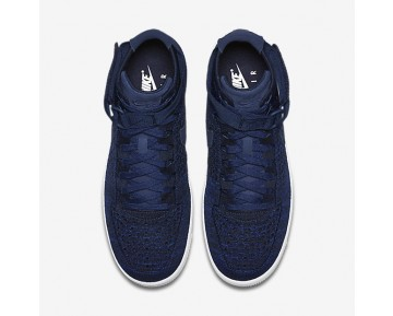 Nike Air Force 1 Ultra Flyknit Mens Shoes College Navy/Black/White/College Navy Style: 817420-401