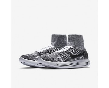 Nike LunarEpic Flyknit Womens Shoes White/Black Style: 818677-101