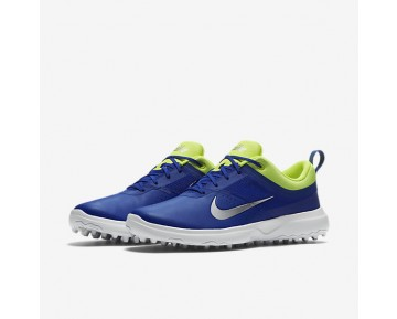 Nike Akamai Womens Shoes Paramount Blue/Volt/Metallic Silver Style: 818732-401
