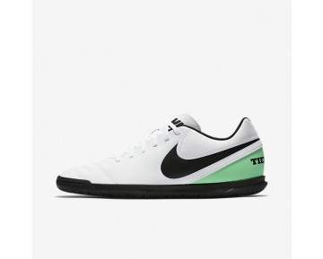 Nike Tiempo Rio III IC Mens Shoes White/Electro Green/Black Style: 819234-103
