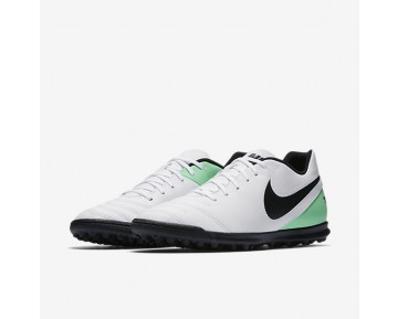 Nike Tiempo Rio III Mens Shoes White/Electro Green/Black Style: 819237-103