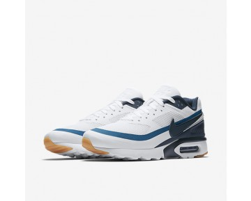 Nike Air Max BW Ultra Mens Shoes White/Industrial Blue/Gum Yellow/Armoury Navy Style: 819475-100
