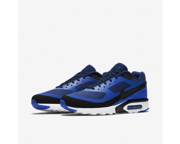 Nike Air Max BW Ultra Mens Shoes Binary Blue/Paramount Blue/White/Black Style: 819475-401