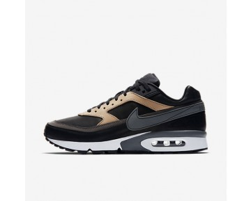 Nike Air Max BW Premium Mens Shoes Black/Vachetta Tan/White/Dark Grey Style: 819523-001