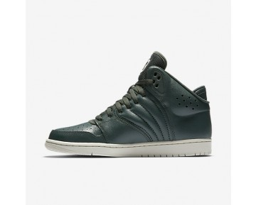 Jordan 1 Flight 4 Mens Shoes Grove Green/Light Bone Style: 820135-300