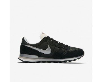 Nike Internationalist Mens Shoes Black/White/Flat Silver/Metallic Silver Style: 828041-003